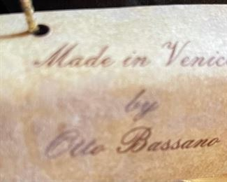 #2 Otto Bassano Masquerade Mask Venice Italy Venetian14x10x6inHxWxD