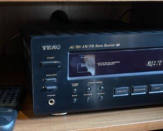 Teac AG-780 Stereo Receiver