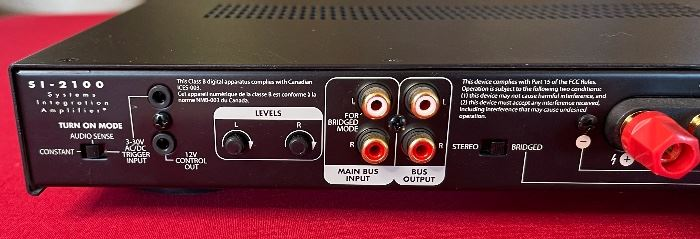 Niles Si-2100 2-channel Power Amplifier2x17.5x14inHxWxD