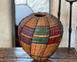 #2 Original Kraynek Prince Torrey Pine Needle Basket13in H x 12in diameter (at widest)