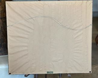 #2 Mola Kuna Indian Tribe Framed Tapestry Art San Blas Islands Panama FramedFrame: 20.75x23.75in