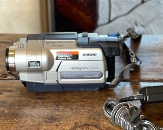 Sony Hi 8 Camcorder ccd-trv318