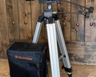 Celestron Skymaster 25x100 Astronomy Binoculars w/ Tripod & CaseBinoculars: 16in Long