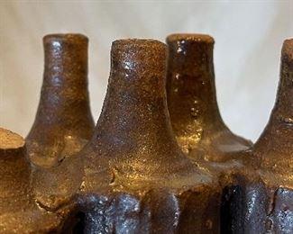 Unsigned Ceramic Sculpture12x6x5inHxWxD