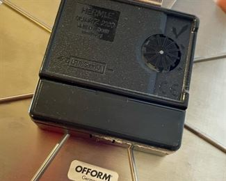 Ofform German Clip Clock16in Diameter