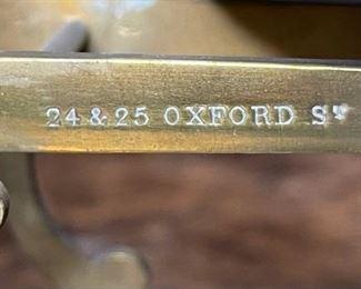 Antique Parkins & Gotto Oxford St London Postal Scale5x8.5x6.5inHxWxD