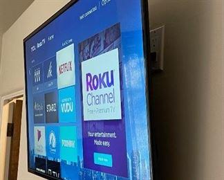 TCL Roku 43in HD Smart TV22x38in