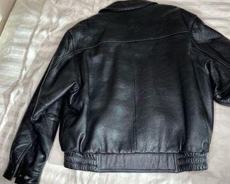Baracuta Leather Jacket Men's MediumMed