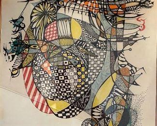 *Original* Art I. Epstein14x11in