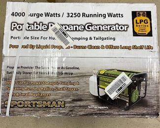 Sportsman Propane Generator 4000 Watt
