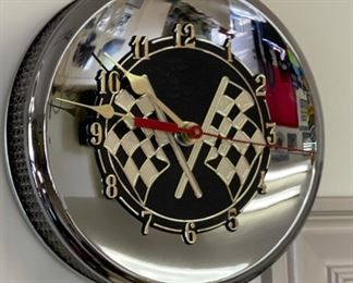 Ramar Ind Air Cleaner Clock9in diameter