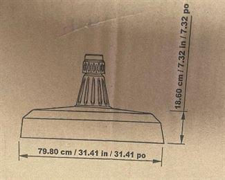 11ft Cantilever Patio Umbrella 853331