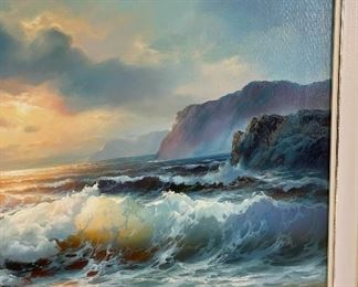 *Original* Art Coast Painting29x41in