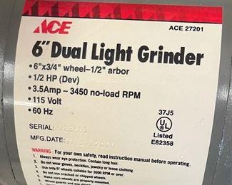 ACE 6in Bench Grinder 27201