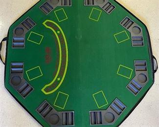 Blackjack Folding Felt Table Top48x48in