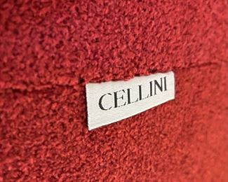 Cellini Contemporary UFO Oval Lounger Loveseat Sofa38x74x66in