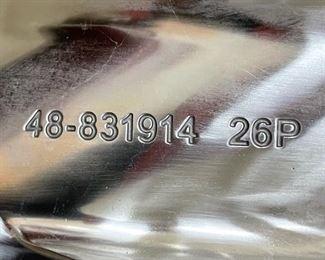 Mercury Marine Bravo 1 Stainless Steel Propeller 4 blade prop 48-831914-26P 26 Pitch R/H7 3/8 x 15in