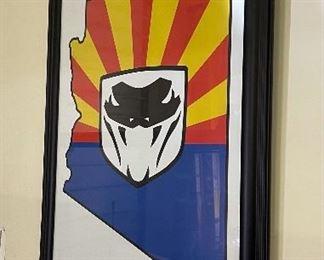 Dodge Viper Club ARIZONA Region Framed Art Poster40x2in