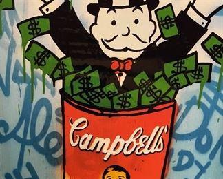 Campbell Soup ALEC Monopoly Canvas Print34x24