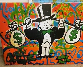 Heavyweight ALEC Monopoly Canvas Print24x32