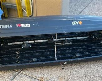 AS-IS Thule Ascent 1700 Roof Box Ski Carrier90 in long