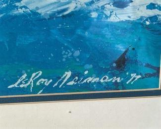 LeRoy Neiman Sailing Framed Print26 x 30