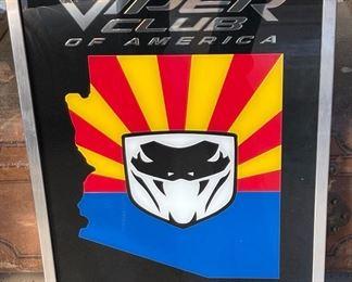 Dodge Viper Club Mirror ARIZONA Region21 x 17