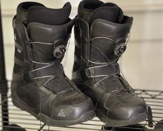 K2 Raider Snowboard Boots Sz 99