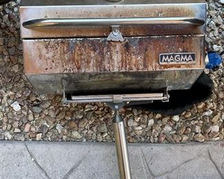AS-IS Magma Grill Marine/RV/Boat