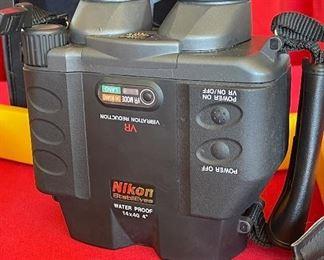 AS-IS Nikon StabilEyes 14x40 Vibration Reduction Binoculars SJ-1 parts/repair
