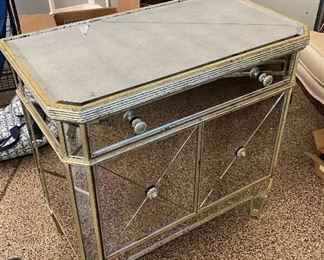 Mirror night stand30in x 17in x 29 1/4in