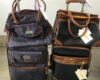 Two-piece carry-on luggage sets by Samantha Brown. Dozens of other luggage pieces available, too