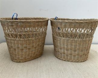 Pair of baskets. Two of many decorative baskets available for purchase