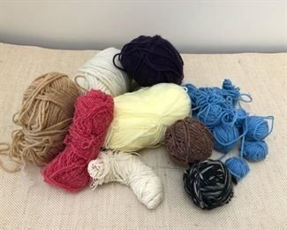 Assorted Skeins of yarn