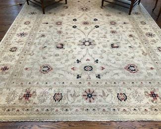 Manshera, Pakistan 9' x 12' wool rug