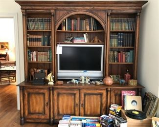 "Toms-Price Bookshelf measures 94"" W x 93"" J x 22"" D, books on tape, books, Sony flat-screen TV.                          FREE DELIVERY for BOOKSHELF within a 16 mile radius of Northfield"