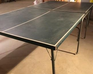 Vintage ping pong table. Needs a net!