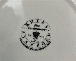 Two Royal Stafford cereal bowls. Picture 2 of 2