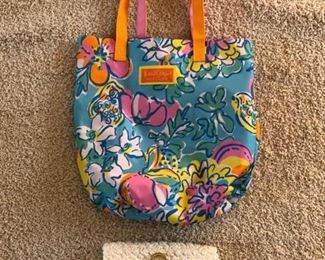 Sample of evening bags & beach bags