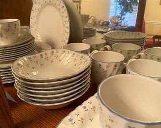 """Set of """"Melody"""" by Johnson Brothers china"""