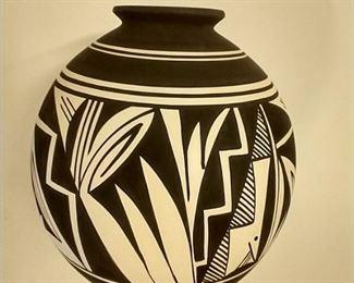 Signed Ute pottery, Talk.  $500