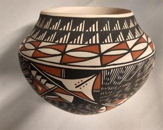 Signed pottery, Y Paytiano from Acoma. $350