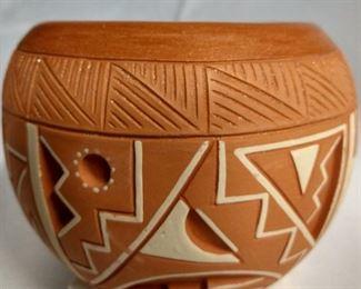 Signed pottery, Rosita De Herrera.  $175