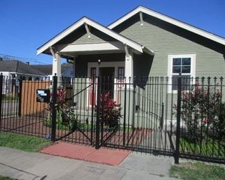 Front of Uptown home