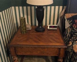 End table $60