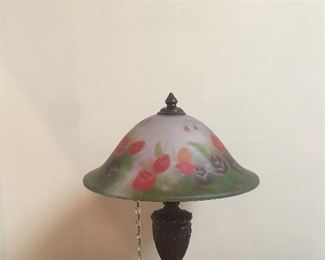Hand painted table lamp $150.00