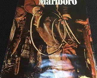 Life size poster of the original Barbara Marlboro man $50.00