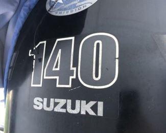 2003 FishMaster Boat w/ 2002 Suzuki 140 HP Motor
