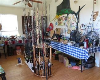 61 Fishing Poles - Inshore and Offshore - Fishing Accessories