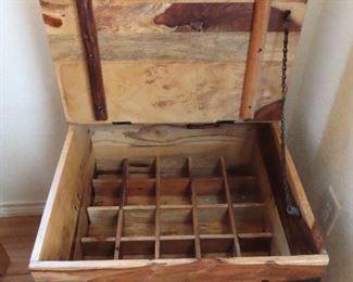 Inside of Wine Trunk